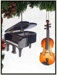 Piano and Cello Ornaments