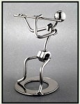 Nuts and Bolts musician statue