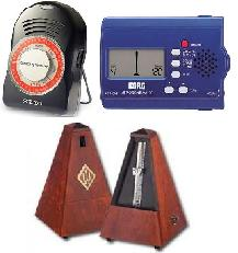 wittner wind up and Korg electronic metronomes