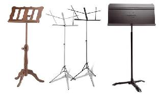 assorted music stands